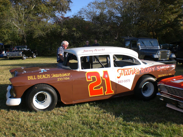 1955 Peachbowl Speedway Car