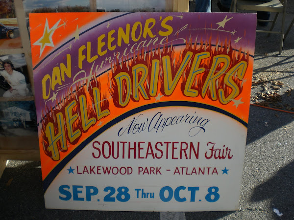 Lakewood Hell Drivers Signs