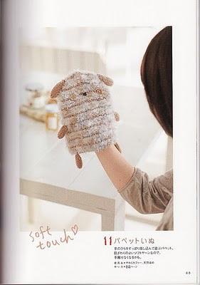 перчаточная игрушка своими руками
