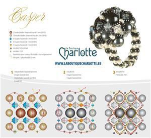 схема плетения кольца из бисера