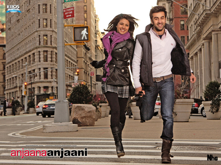 Ranbir injures Priyanka in Anjaana Anjaani. Ranbir Kapoor, the flavor of the