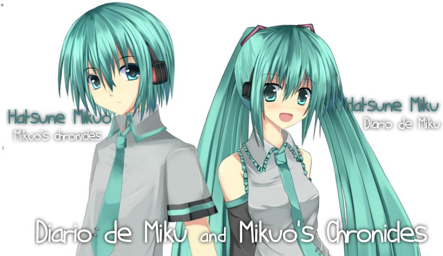 Miku-Chan & Mikuo-Kun