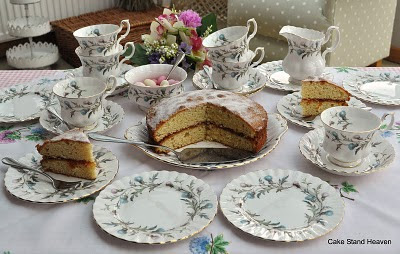 Royal Albert Brigadoon Tea Set