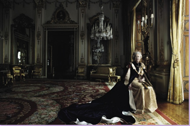 .com and talk about the Leibovitz's Queen Elizabeth photos above