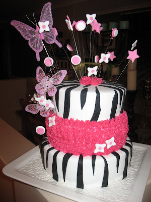 Olivia's 16th Birthday Cake