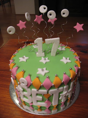 Beths 17th Birthday Cake