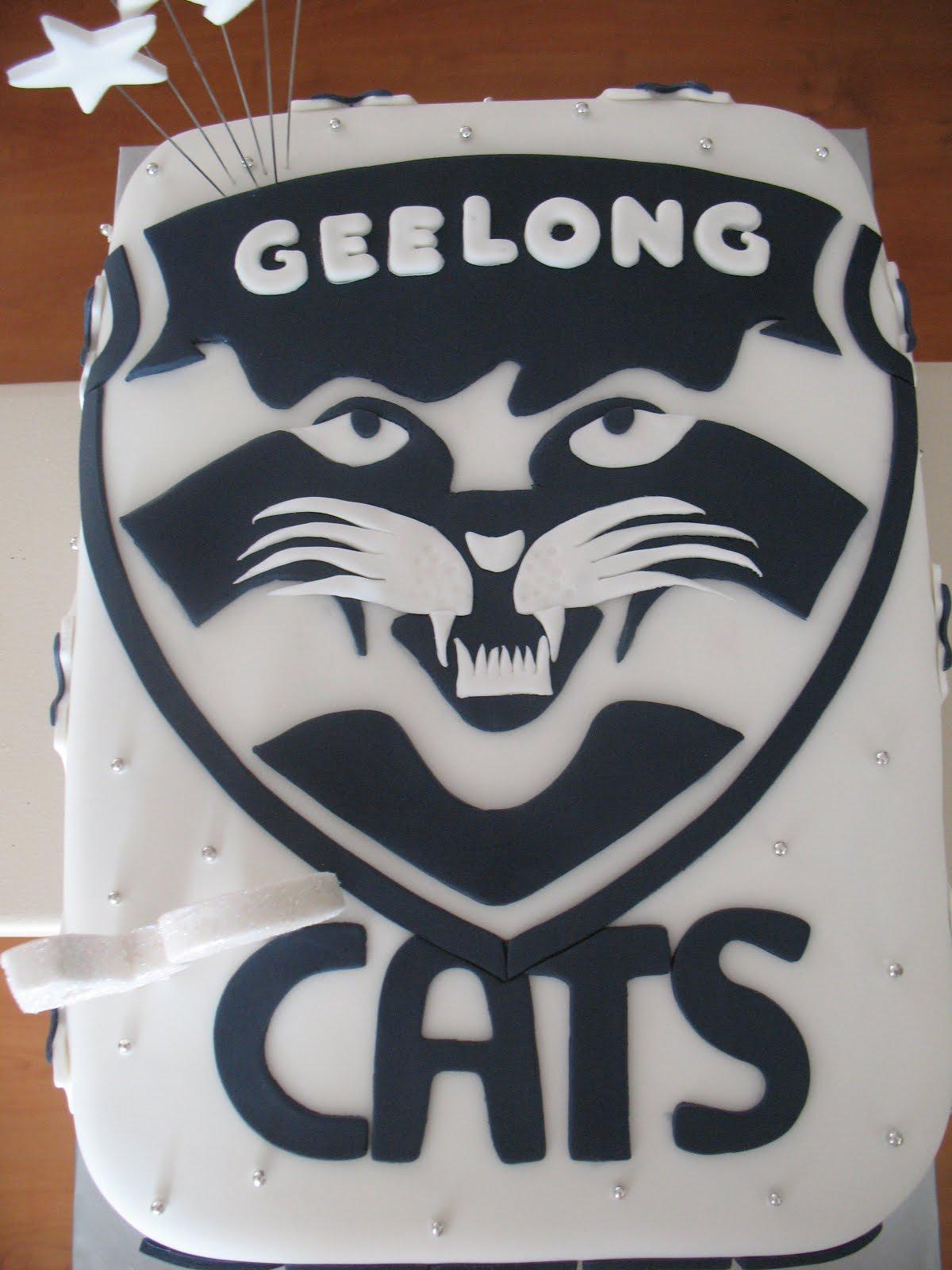 Sandys Cakes Geelong Cats