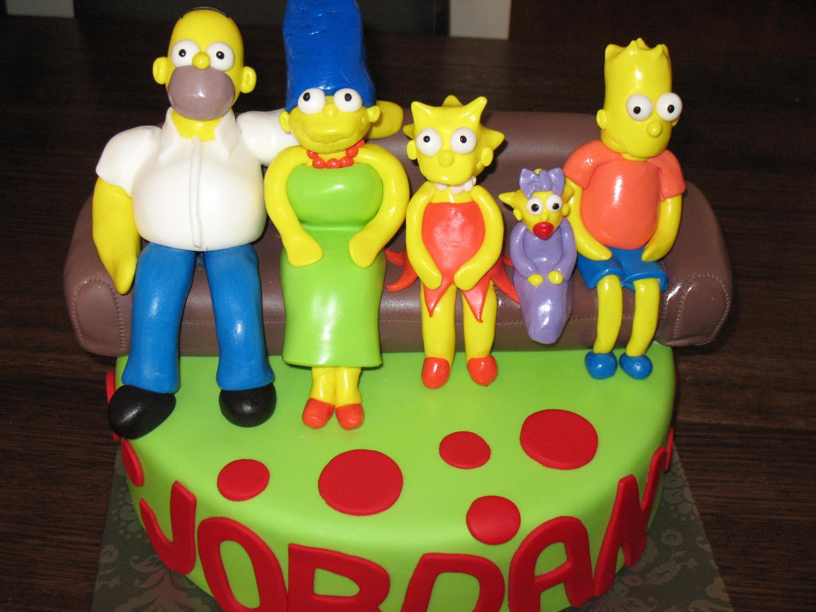 simpson cake