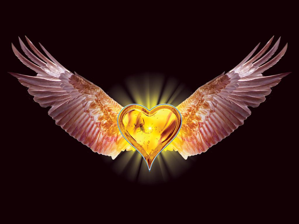 Wallpaper 3D Art: Eagle Heart