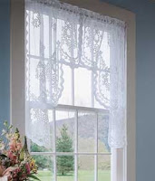 Lace Curtains, Valances, Tiers And Panels U2013 Charming Window Coverings To  Mix And Match
