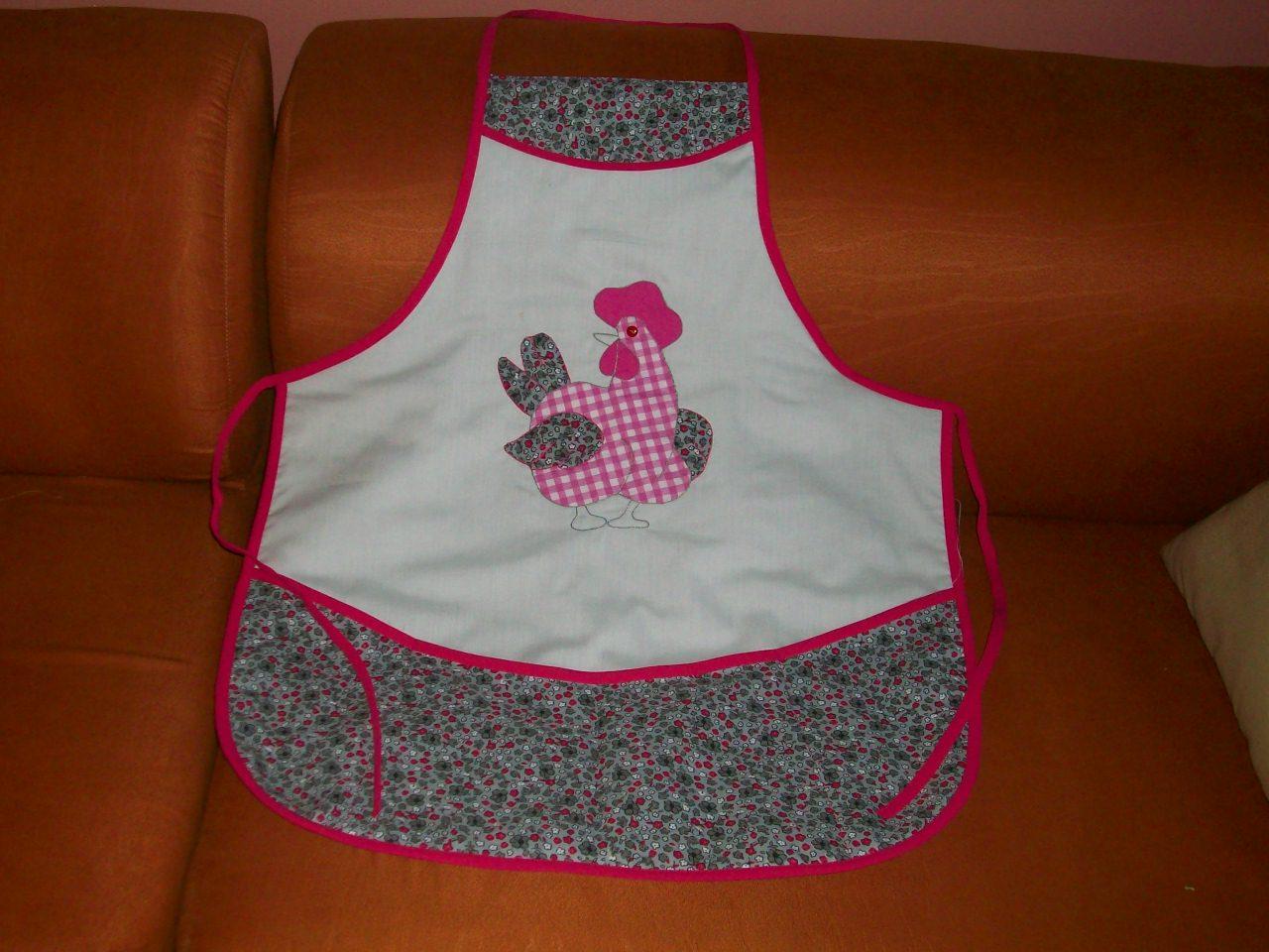 Las creaciones y manualidades de mariace un delantal en - Tecnicas de patchwork a mano ...