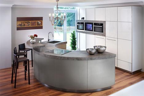 Curved Kitchen Design Modern Kitchen Kitcen Sink Design