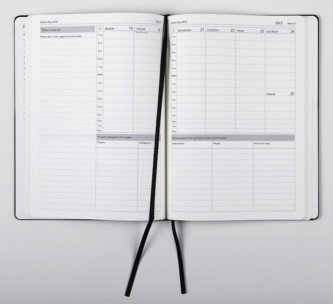 action day notebooks and planners get the job s done the knack