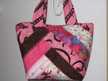 Pink Crazy Quilt Purse
