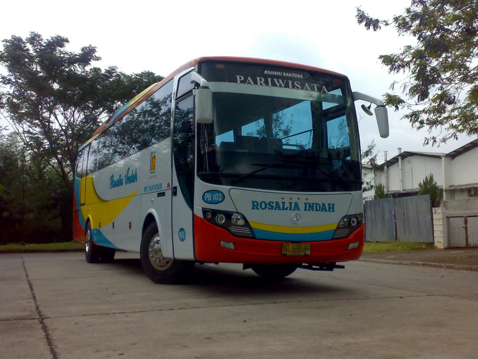 Bus pariwisata rosalia indah
