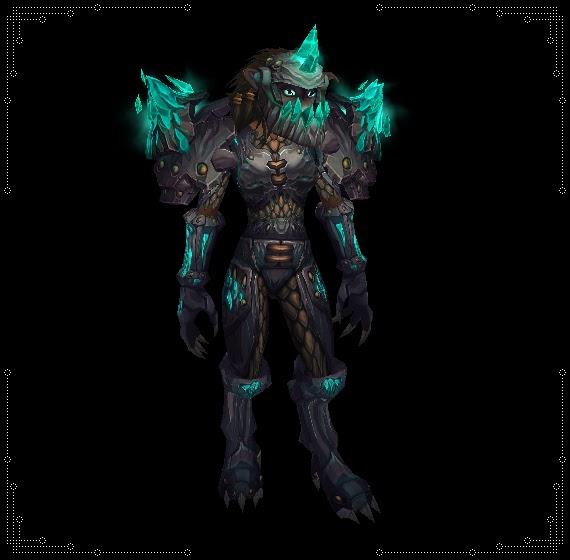 Worgen warrior armor
