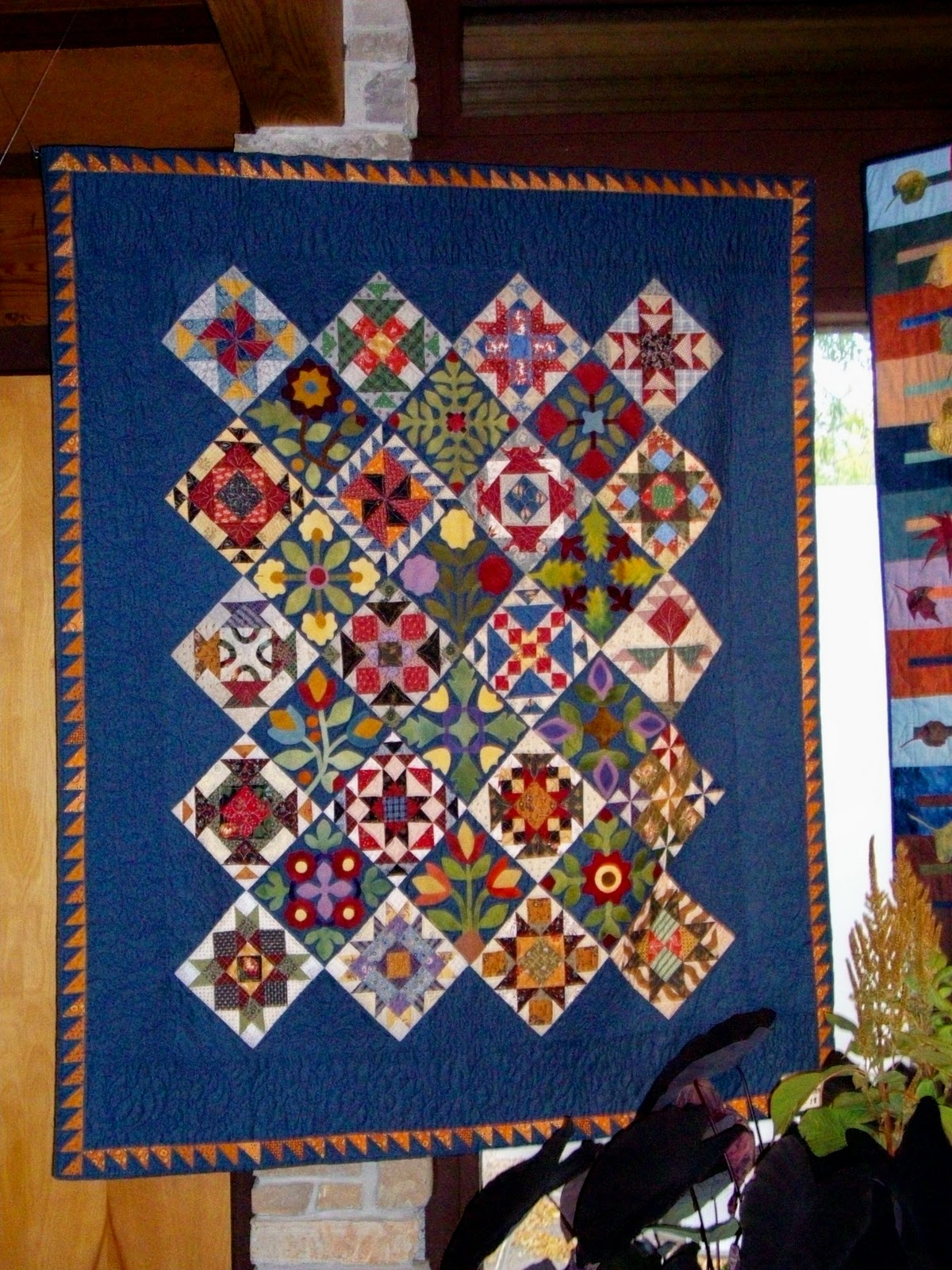 Quilt Talk Olbrich Garden Fall Quilt Show 2010