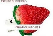 PREMIO FRESA BYT