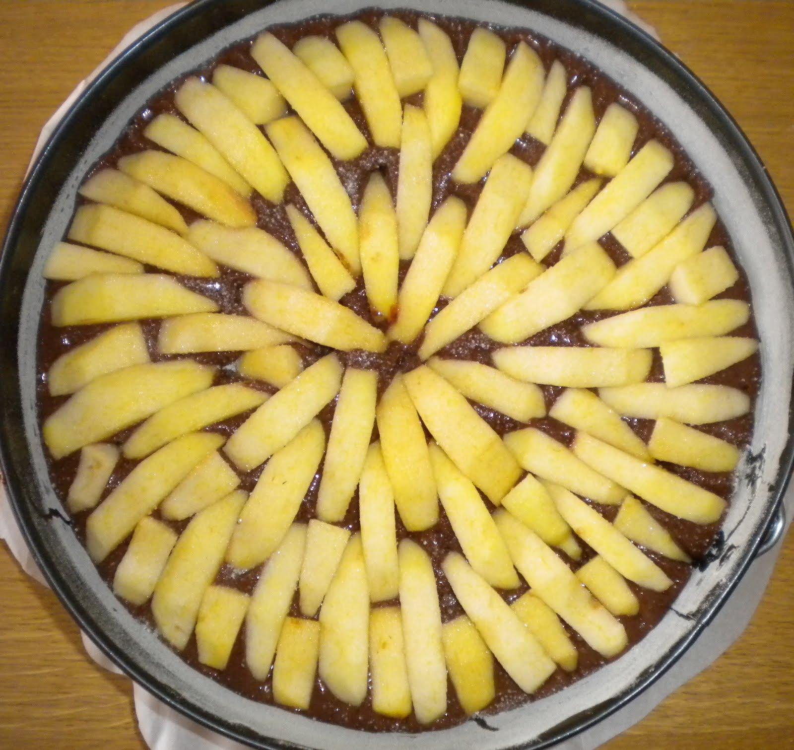 Torta mele e cioccolato cruda, dolci | Rio Terà dei Pensieri