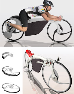 10 Sepeda Dengan Konsep yg Uneh dan Kreatif