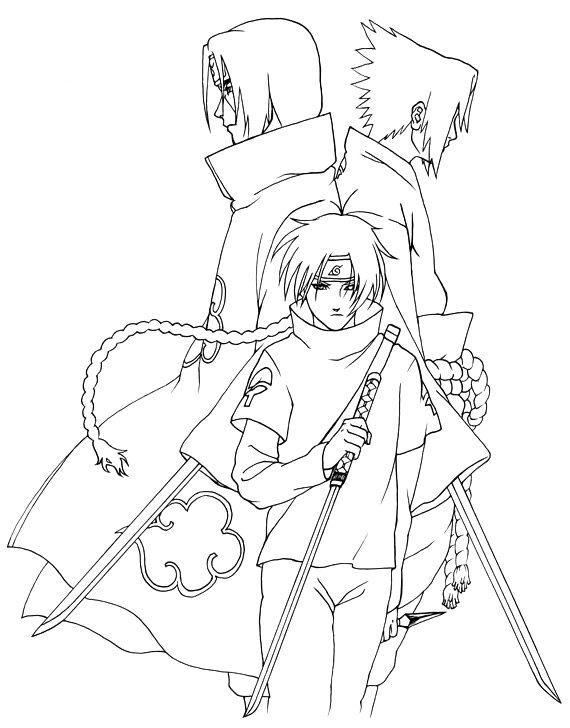 Vamos Colorir Desenhos de Animes