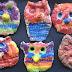 Salt Dough Owls