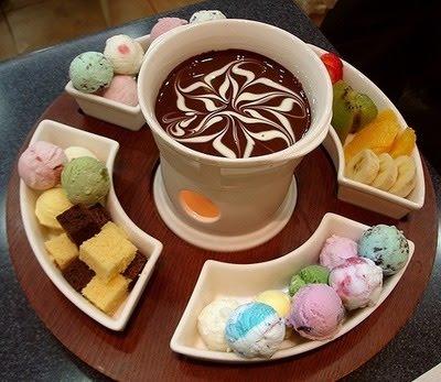 Miss etiqueta fondue a refei o sempre quente - Fondue de chocolate ...
