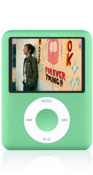 My Green IPOD Nano