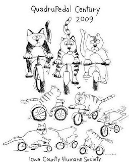 cats on bikes drawing for t-shirt