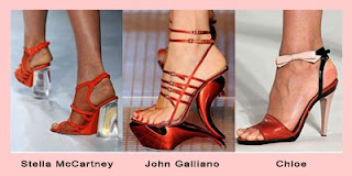 The House of Designer Handbags and Shoes: Spring 2009 Top Trend Color for Shoes