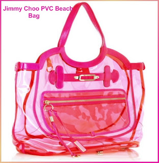 Designer's House: Jimmy Choo PVC Beach Bag