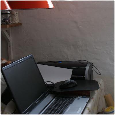 computer skærm flækket