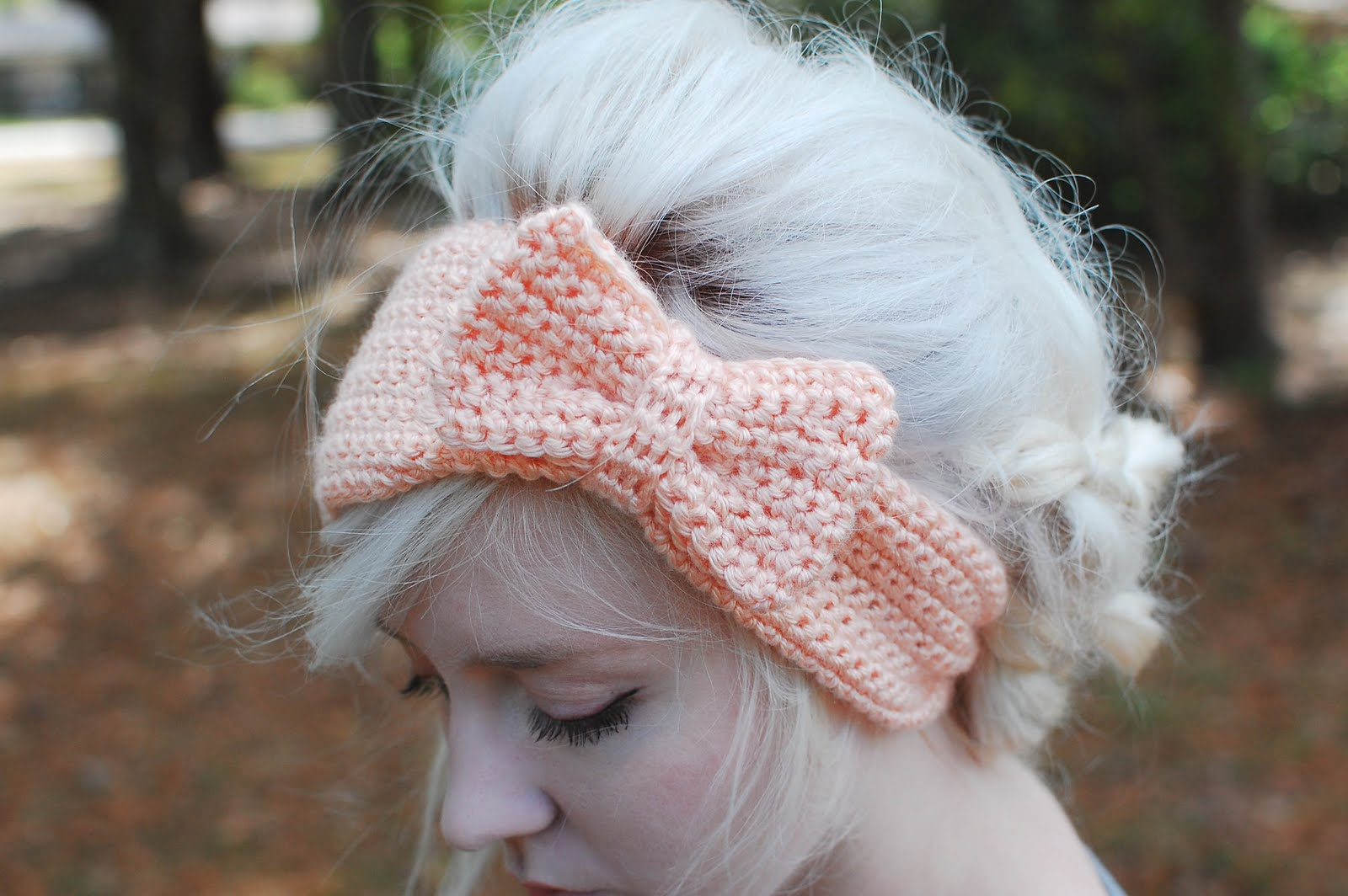 Crochet Tutorial Headband : people webs: bow headband tutorial