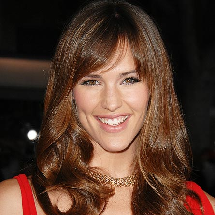 Celebrities hairstyles Jennifer Garner