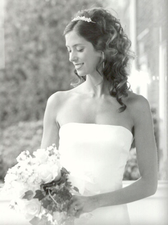 wedding hairstyle photo from lindsayplans