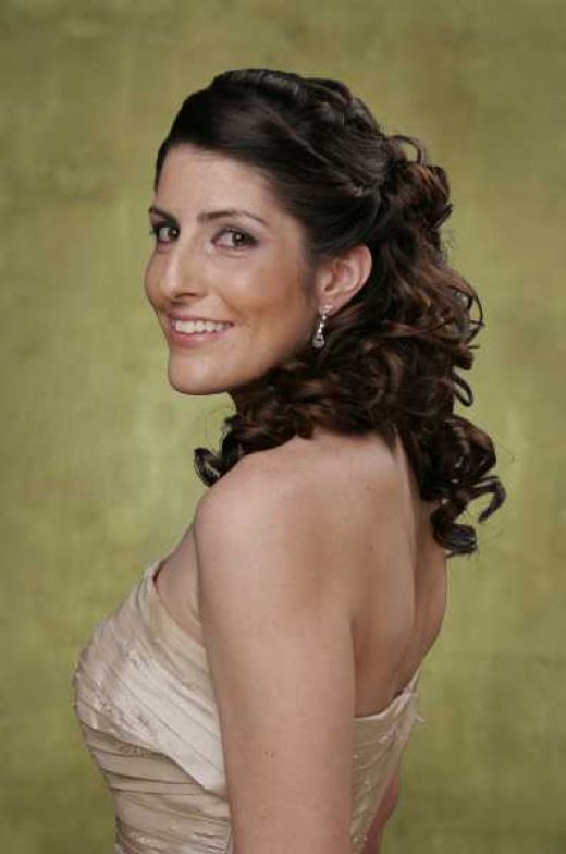 curly hairstyles for short hair for prom. short curly hairstyles