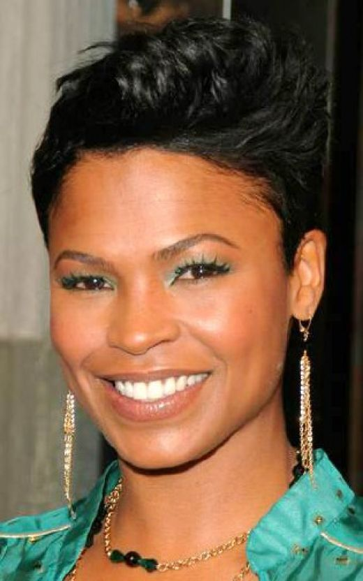 Medium Length Hairstyles For Black. Short Black Hairstyles for