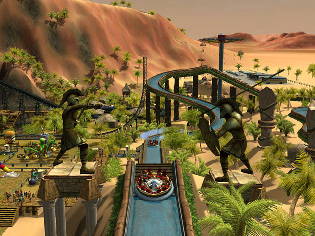 Roller Coaster Tycoon Platinum Works Tested