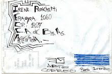 Carta para Irene Ronchetti