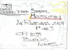 Carta para Samuel Montalvetti