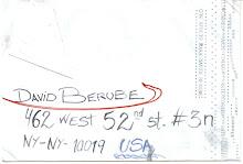 Carta para David Berube