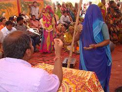 With MGNREGA labour