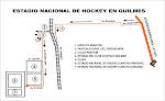 Como llegar al Estadio Nacional de Hockey