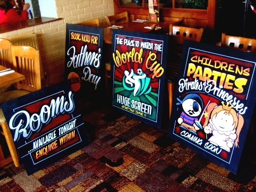 pub a-boards