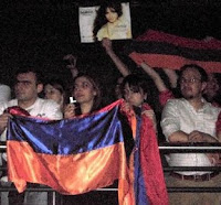 Armenians supporting Sirusho