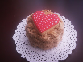 Mini Cake de Chocolate del Amor!