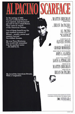 Al Pacino Scarface theatrical release poster