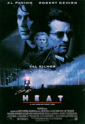 Heat 1995 movie poster