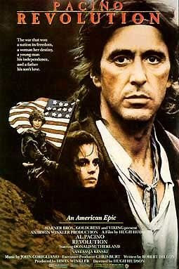 Al Pacino Revolution movie poster
