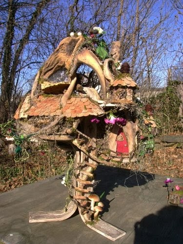 The Fantasy Forest The Mushroom Fairy House Julie